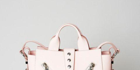 Bag, Carmine, Logo, Shoulder bag, Clothes hanger, Heart, Shopping bag, Tote bag,
