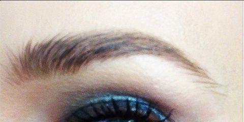 Brown, Eye, Skin, Eyelash, Eyebrow, Eye shadow, Violet, Iris, Colorfulness, Purple,