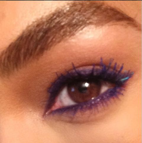 Brown, Skin, Eyelash, Eyebrow, Iris, Amber, Violet, Purple, Beauty, Organ,