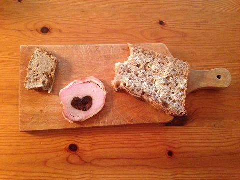 Wood, Food, Hardwood, Ingredient, Wood stain, Cuisine, Cutting board, Gluten, Kitchen utensil, Kitchen knife,