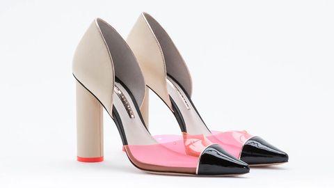 Footwear, Shoe, Pink, Basic pump, Tan, Beige, Dancing shoe, Sandal, Natural material, Dress shoe,