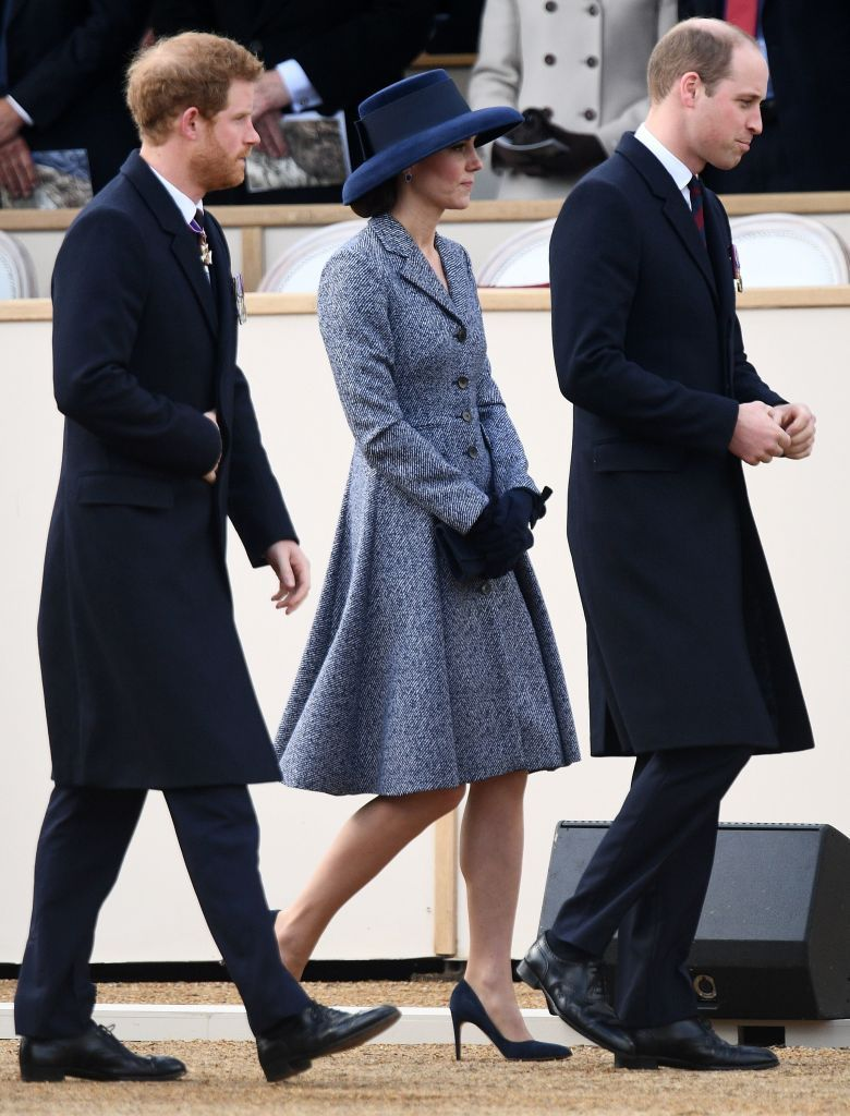 Kate Middleton Wears a Chic Gray Coat to Church with the Queen, as Prince George Goes on His First Grouse Shoot images