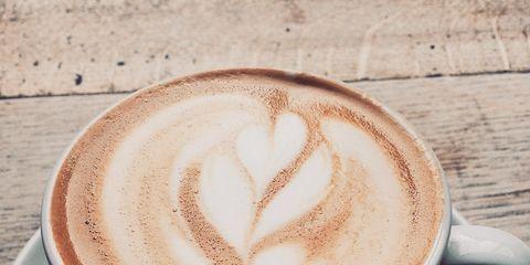 Cup, Coffee cup, Serveware, Drinkware, Espresso, Flat white, Caffè macchiato, Drink, Coffee, Single-origin coffee,
