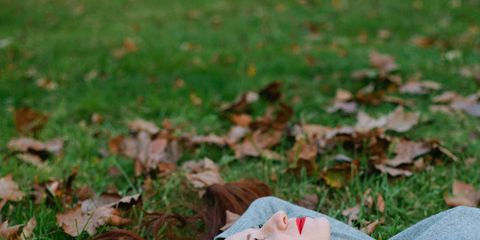 Lip, Grass, Green, Leaf, People in nature, Summer, Beauty, Toy, Liver, Eyelash,