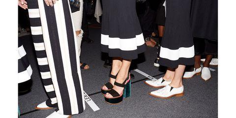 Human leg, Style, Fashion, Black, Pattern, Street fashion, Foot, Calf, Fashion design, Ankle,
