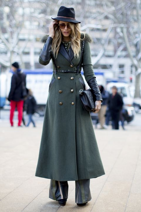Clothing, Hat, Sleeve, Coat, Winter, Outerwear, Street, Style, Street fashion, Overcoat,