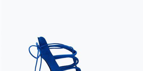 Footwear, Blue, High heels, Sandal, Electric blue, Basic pump, Azure, Aqua, Cobalt blue, Foot,