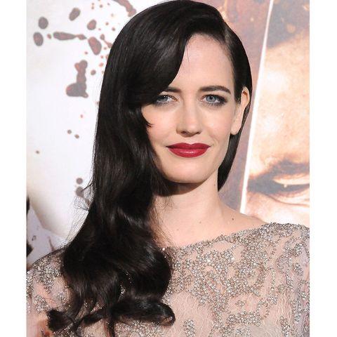Lip, Hairstyle, Eyebrow, Eyelash, Black hair, Eye liner, Beauty, Earrings, Eye shadow, Model,