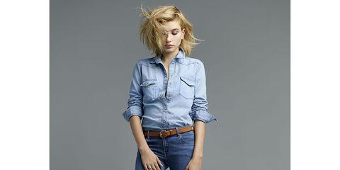 Leg, Blue, Brown, Denim, Sleeve, Trousers, Collar, Jeans, Shoulder, Textile,