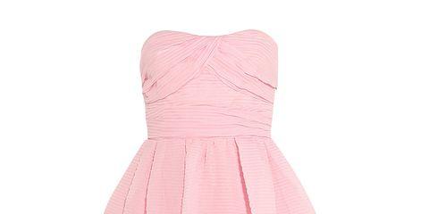 Product, Sleeve, Dress, Textile, Magenta, Collar, Pink, One-piece garment, Pattern, Peach,