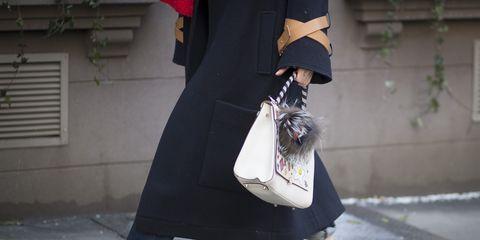 Clothing, Footwear, Shoe, Outerwear, White, Street fashion, Bag, Fashion, Grey, Snapshot,
