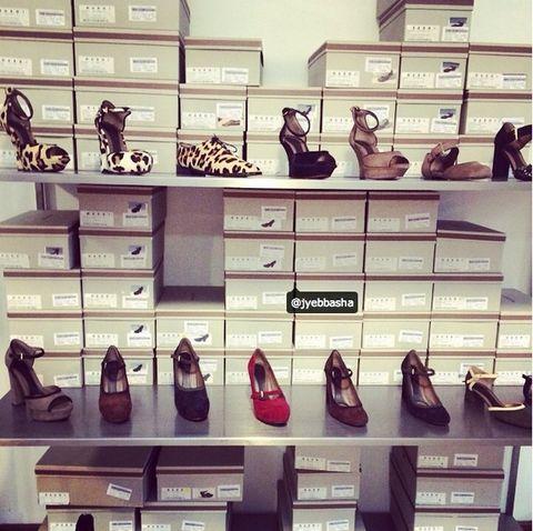 Brown, Shoe store, Retail, Shelf, Collection, Shelving, Tan, Shoe organizer, Fashion, Brand,