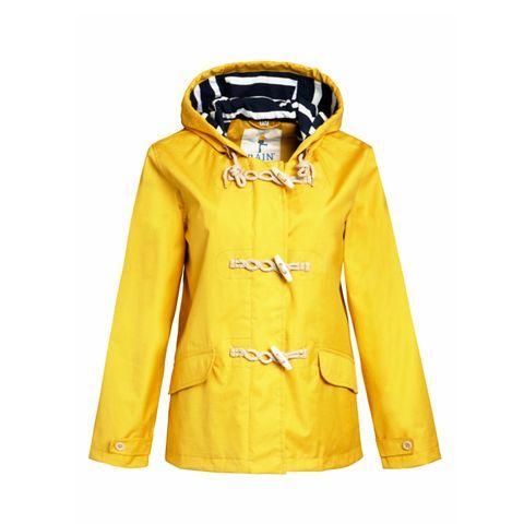 Yellow, Sleeve, Collar, Textile, Outerwear, Coat, Orange, Fashion, Electric blue, Tan,