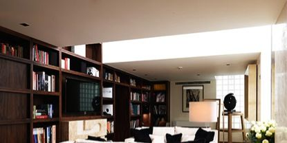 Room, Interior design, Shelf, Property, Furniture, Bookcase, Shelving, Floor, Wall, Interior design,