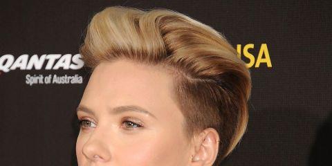 Hair, Ear, Hairstyle, Chin, Eyelash, Eyebrow, Style, Fashion, Fashion model, Neck,