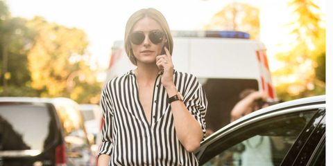 Shoulder, Style, Street fashion, Vehicle door, Dress, Sunglasses, Bag, Waist, Luxury vehicle, Blond,