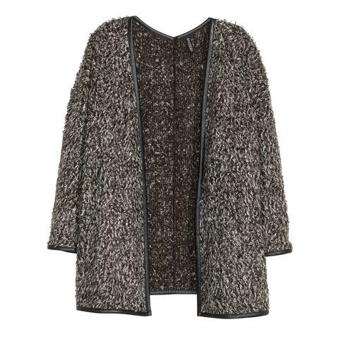 Sleeve, Coat, Textile, Outerwear, Pattern, Style, Fashion, Grey, Woolen, Fur,