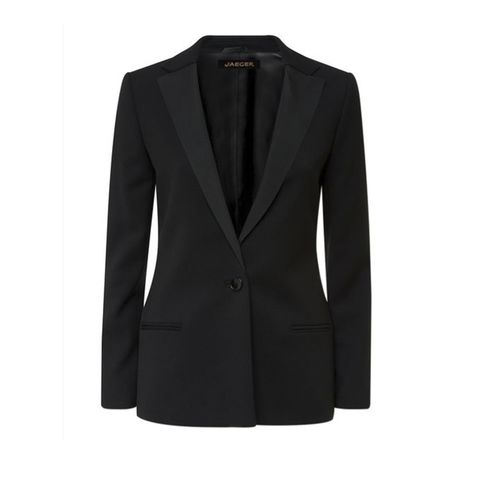 Clothing, Coat, Collar, Sleeve, Outerwear, Formal wear, Blazer, Fashion, Button, Pocket,