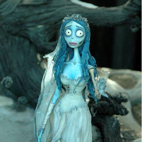 Toy, Teal, Doll, Aqua, Long hair, Embellishment, Hair accessory, Cg artwork, Headpiece, Animation,