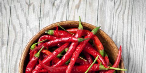 Bird's eye chili, Malagueta pepper, Chile de árbol, Chili pepper, Peperoncini, Tabasco pepper, Cayenne pepper, Food, Bell peppers and chili peppers, Serrano pepper,