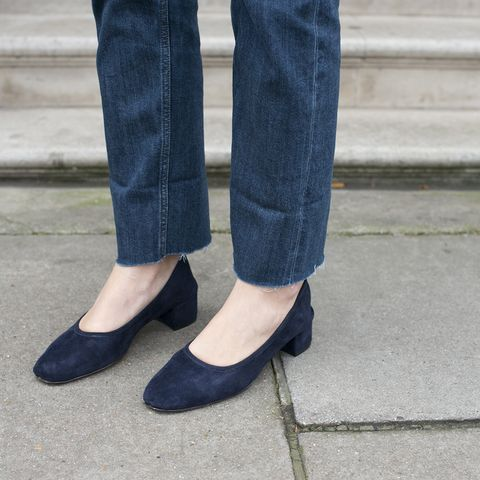 Footwear, Blue, Denim, Textile, Shoe, Jeans, Electric blue, Street fashion, Fashion, Azure,