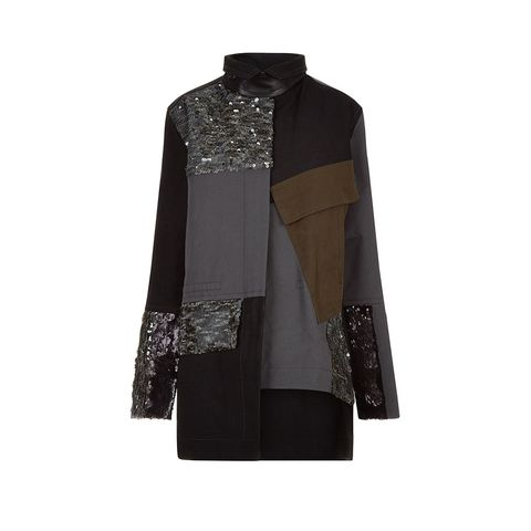 Collar, Sleeve, Coat, Textile, Outerwear, Blazer, Pattern, Fashion, Clothes hanger, Maroon,