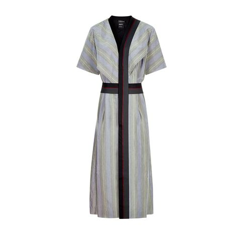 Collar, Sleeve, Textile, Formal wear, Pattern, Dress, One-piece garment, Day dress, Fashion design, Pattern,