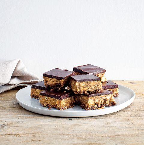 Food, Cuisine, Chocolate brownie, Dish, Fudge, Dessert, Ingredient, Chocolate, Snack cake, Baked goods,