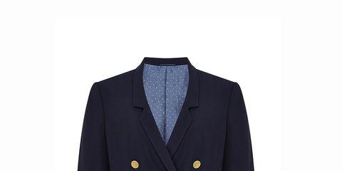 Clothing, Coat, Dress shirt, Collar, Sleeve, Outerwear, Uniform, Formal wear, Pattern, Blazer,