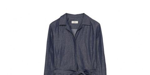 Collar, Sleeve, Textile, Grey, Clothes hanger, Fashion design, Button, Pattern, Pocket,