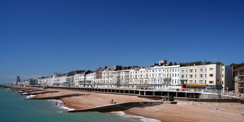Sea, Water, Coast, Beach, Sky, Shore, Ocean, Architecture, Pier, Coastal and oceanic landforms,