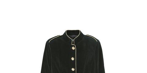 Collar, Sleeve, Dress shirt, Textile, Coat, Outerwear, Uniform, Blazer, Pattern, Fashion,