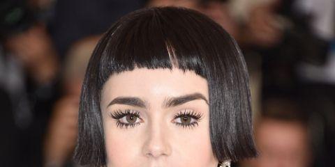 Lip, Cheek, Hairstyle, Skin, Chin, Shoulder, Eyebrow, Eyelash, Joint, Eye shadow,