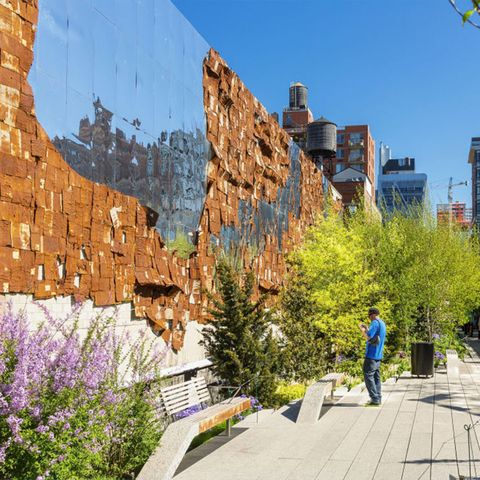 Daytime, Wall, Rock, Public space, Tree, Botany, Spring, Plant, Architecture, City,