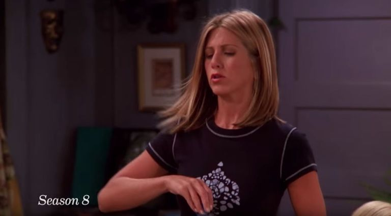Rachel Green Short Hair