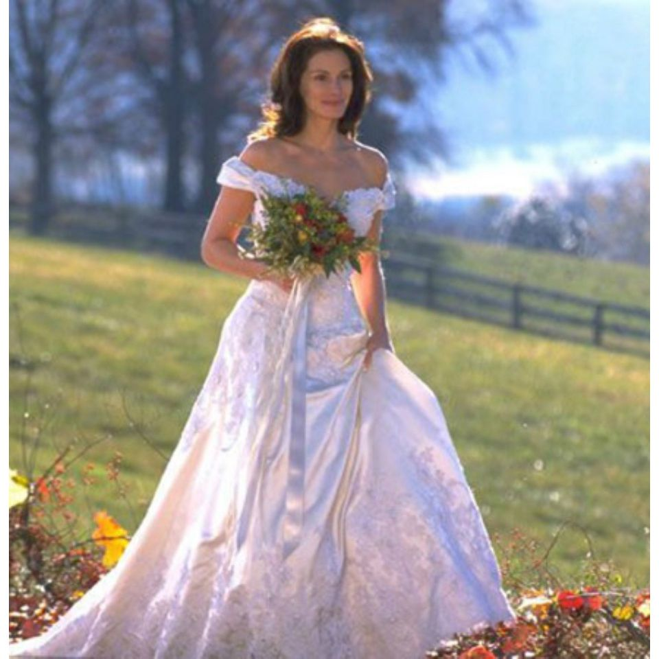 The most iconic TV and film wedding dresses of all time
