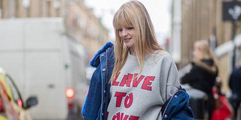 Jeans, Clothing, Street fashion, Denim, Fashion, Jacket, Snapshot, Outerwear, Cobalt blue, Footwear,