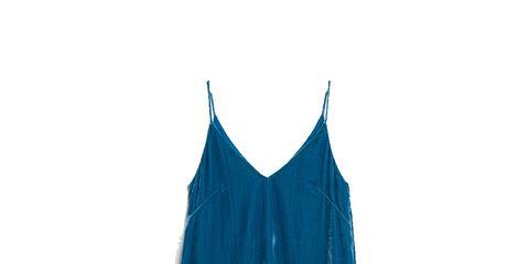 Sleeve, Uniform, Azure, Electric blue, Aqua, Cobalt blue, Fashion design, Brand,