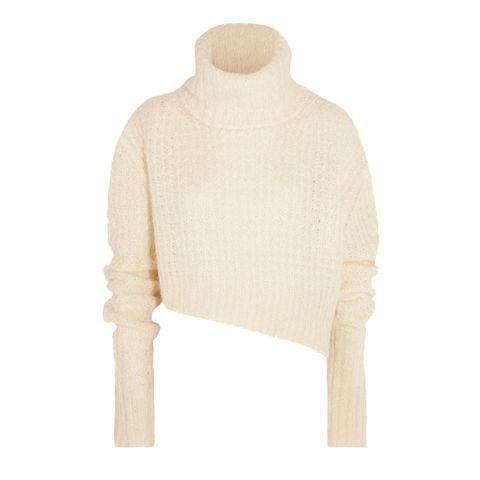 Clothing, Sweater, Outerwear, Neck, Beige, Wool, Sleeve, Shoulder, Top, Jersey,