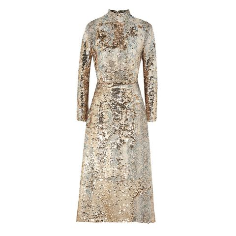 Clothing, Dress, Gown, Cocktail dress, Day dress, Sleeve, A-line, Fashion, Lace, Outerwear,