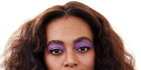 Lip, Brown, Hairstyle, Skin, Shoulder, Eyebrow, Collar, Eyelash, Style, Iris,