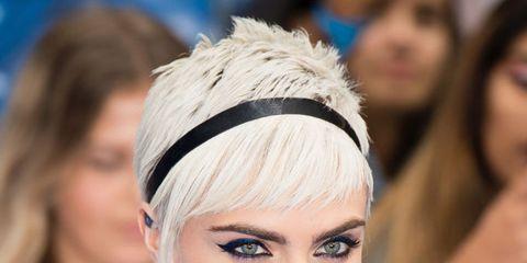 Hair, Face, Eyebrow, Hairstyle, Lip, Hair accessory, Headpiece, Beauty, Chin, Fashion,