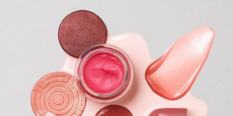 Pink, Skin, Lip, Peach, Material property, Lip gloss, Cosmetics, Lipstick, Nail,