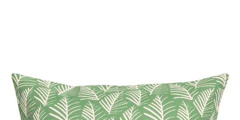 Green, Pillow, Throw pillow, Cushion, Leaf, Aqua, Turquoise, Furniture, Teal, Textile,