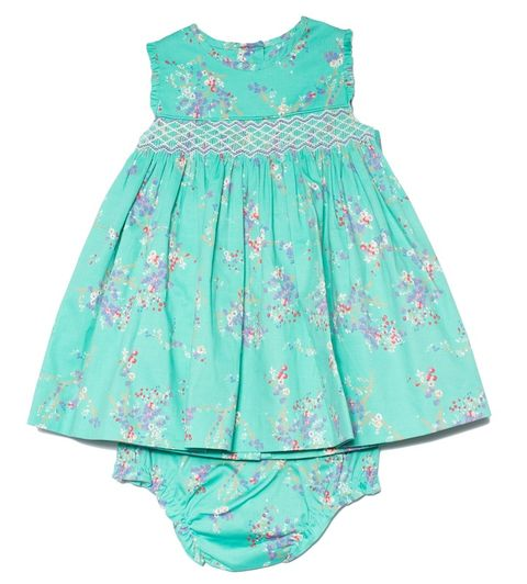 Clothing, Dress, Aqua, Product, Day dress, Turquoise, Blue, Baby & toddler clothing, Green, Pink,