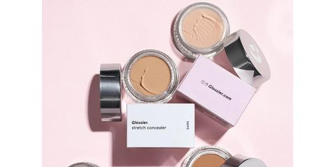 Product, Beauty, Eye, Cosmetics, Material property, Copper, Face powder, Beige, Label, Peach,