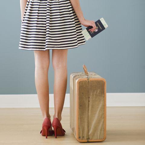 Brown, Human leg, Joint, Dress, Style, Fashion accessory, Bag, One-piece garment, Tan, Waist,