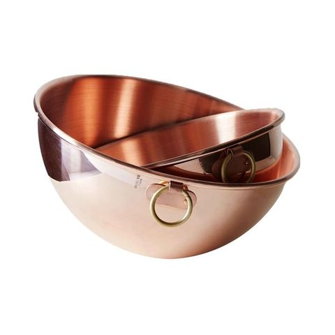 Copper, Product, Brown, Bowl, Metal, Mixing bowl, Beige, Tableware, Fashion accessory,