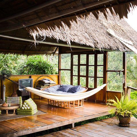 Property, Room, House, Building, Home, Interior design, Resort, Furniture, Cottage, Eco hotel,