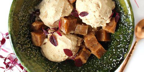 Dish, Food, Cuisine, Ingredient, Produce, Recipe, Comfort food, Vegetarian food, Ice cream,